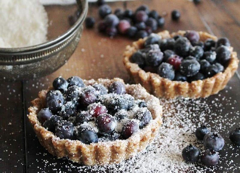 Blueberry Tarts - This Rawesome Vegan Life
