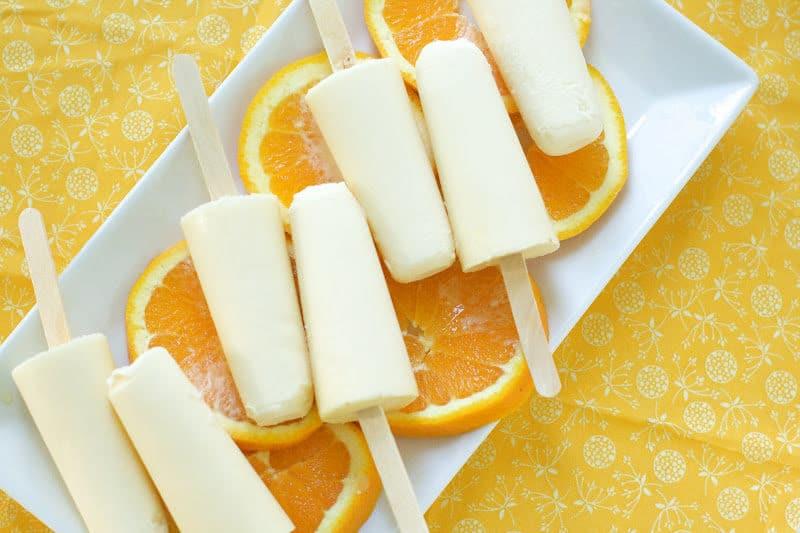 Orange Creamsicles - Oven Love