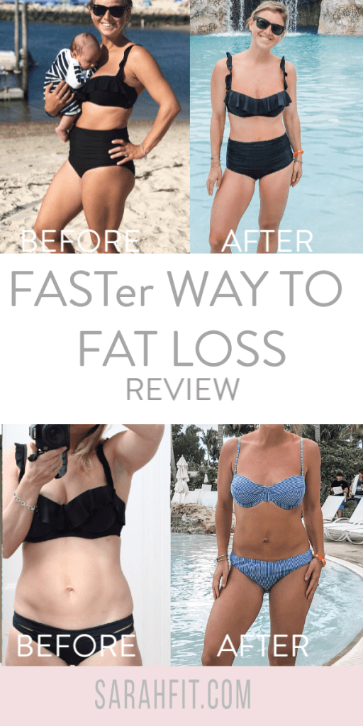 FASTer Way To Fat Loss Review Sarah Fit Postpartum nursing mom