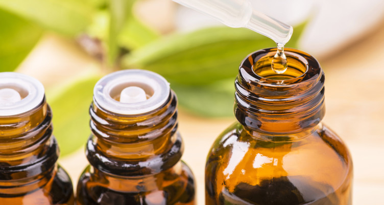 MCT oil as a carrier oil for essential oils