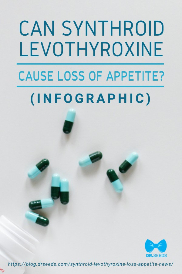 Can Synthroid Levothyroxine Cause Loss Of Appetite? [INFOGRAPHIC] | https://blog.drseeds.com/synthroid-levothyroxine-loss-appetite-news/