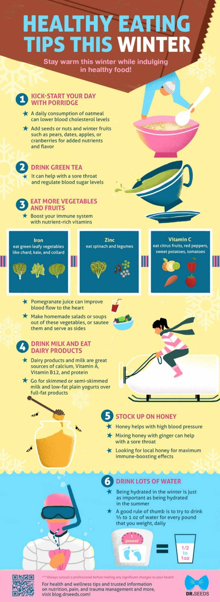 Infographic | Healthy Eating Tips This Winter [INFOGRAPHIC] | healthy eating tips winter | healthy eating habit